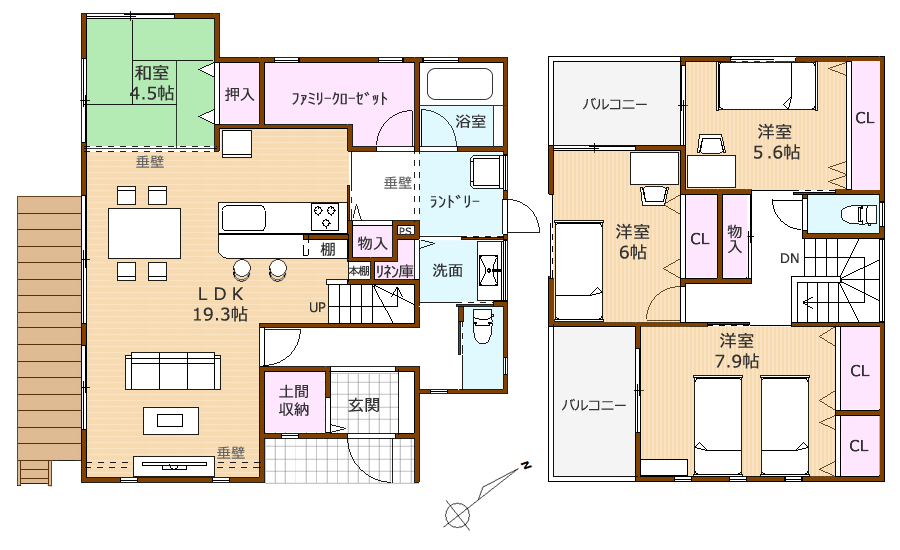 100304MHカラー 家具